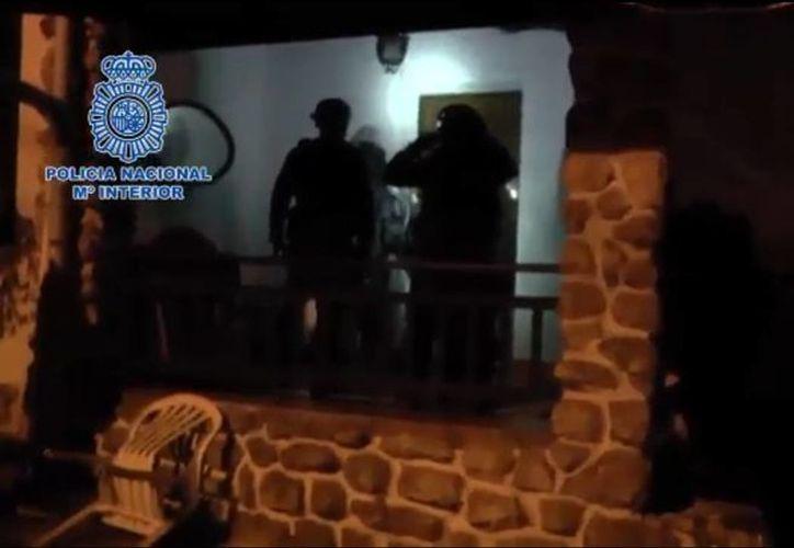 La captura del líder yihadista ocurrió en la ciudad de San Sebastián, al norte de España. (Captura de pantalla/Policía Nacional de España)