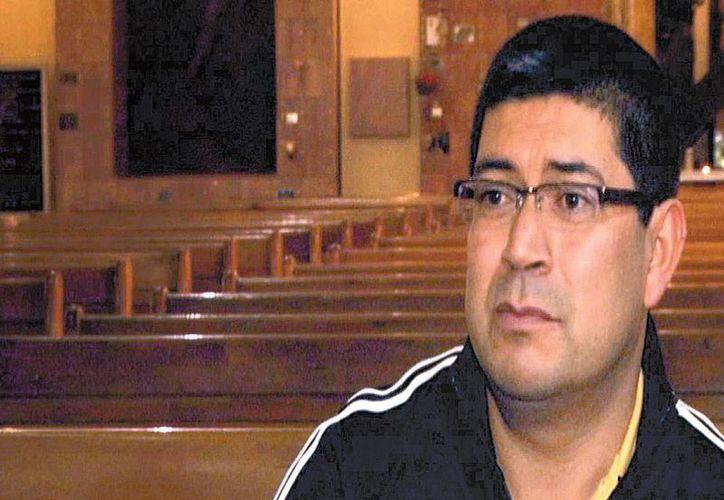 El misionero comboniano Fernando Cortés, pupilo de Ssenyondo en Morelos. (Milenio)