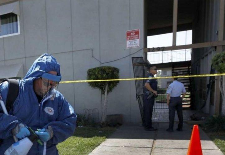 El tiroteo se registró en un vecindario conocido por la presencia de pandillas. (Excélsior)