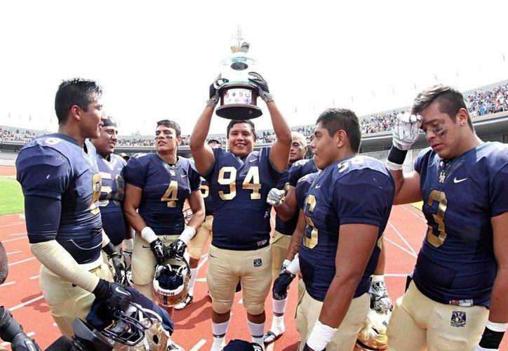 Los Pumas CU lograron el cuarto campeonato de su historia. (Notimex)