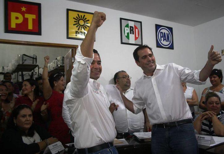 El Consejo Distrital 01 otorgó la constancia de mayoría a José Luis Toledo Medina. (Octavio Martínez/SIPSE)