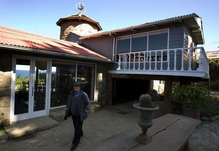 Esta casa-museo del poeta chileno Pablo Neruda está situada en Isla Negra, a 110 kilómetros de Santiago. (EFE)