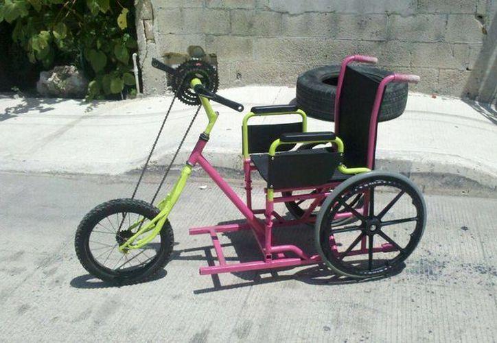 La empresa Sekai Tech, fue la que creo el triciclo especial. (Licety Díaz/SIPSE)