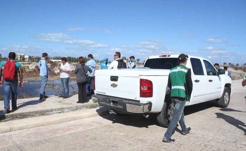 La movilización se registró alrededor de las 16 horas. (Sergio Orozco/SIPSE)