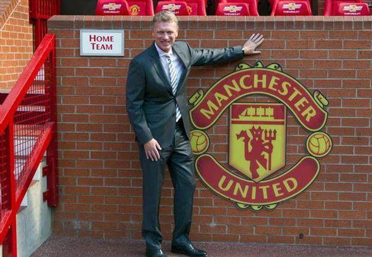 Moyes ha tenido una difícil primera temporada como entrenador del Manchester United, entre malos resultados y jugadores lesionados. (foxsportsla.com)