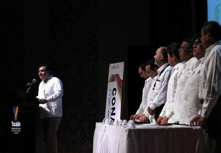 La inauguración del Congreso Nacional de Tecnología Industrial en Mérida. (Cortesía)