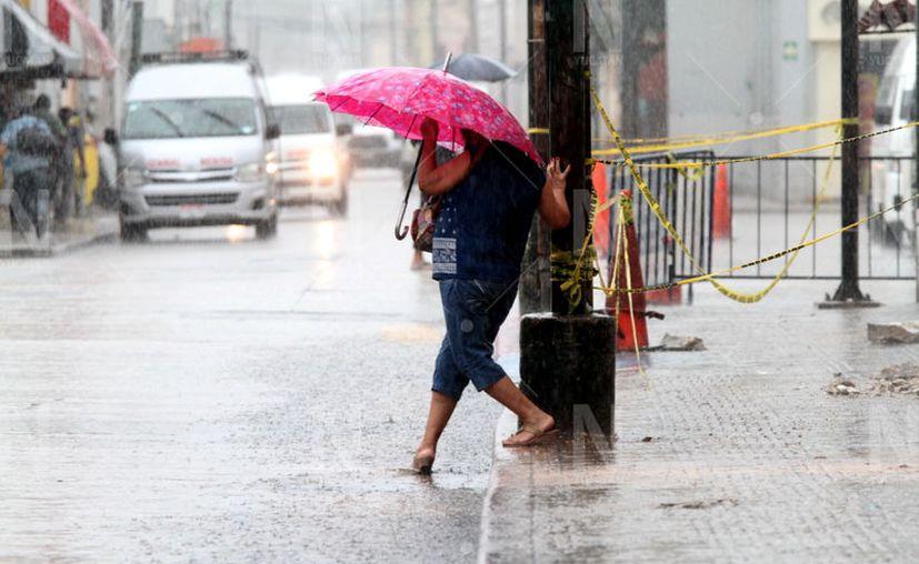Para este martes se esperan más lluvias en la entidad. (Jorge Acosta/Novedades Yucatán)