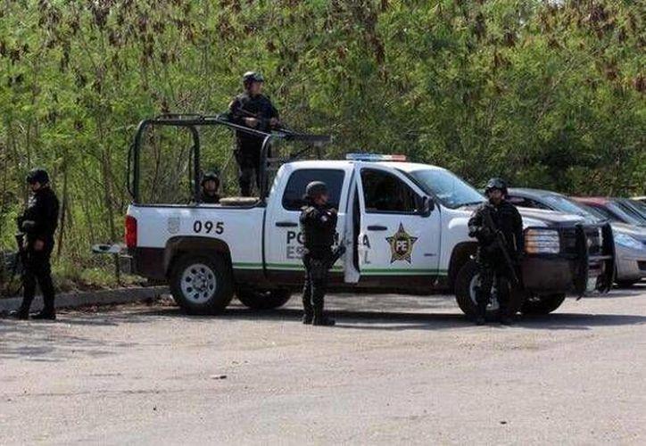 La balacera se registró en la colonia Cumbres en Reynosa. (Twitter.com/@OroNegroDiario)