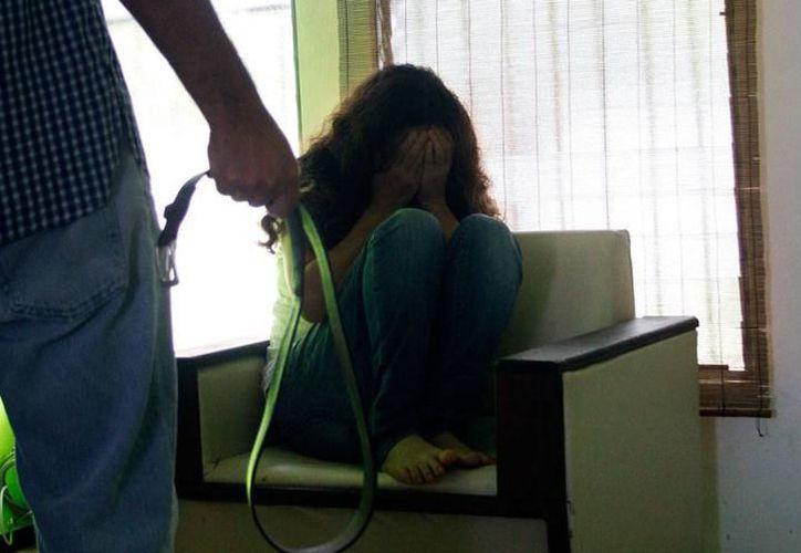 El 60 por ciento de las mujeres que sufren violencia en el hogar no denuncia. (Archivo/SIPSE)