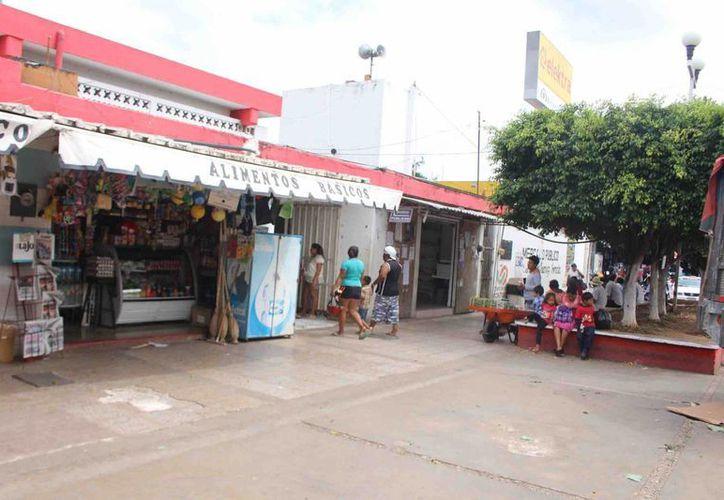 Ante esa situación el mercado municipal se ha proyectado para una mejora de imagen. (Jesús Caamal/ SIPSE)