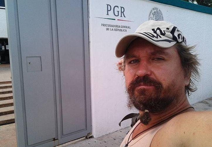 #LordNaziRuso fue atacado por una turba hace unos meses en Cancún.  (Redacción/SIPSE)