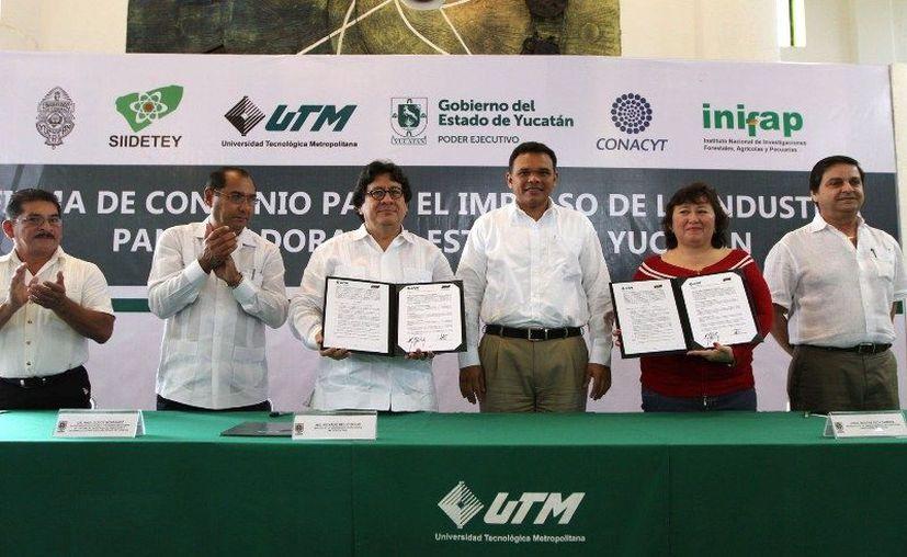 El apoyo del Gobierno a la industria panificadora de Yucatán cuenta con un fondo de lan, desarrollado en el marco del Sistema de Investigación, Innovación y Desarrollo Tecnológico (Siidetey), recibe financiamiento por 4 mdp, aportados por  Conacyt  y el Gobierno del Yucatán. (Cortesía)