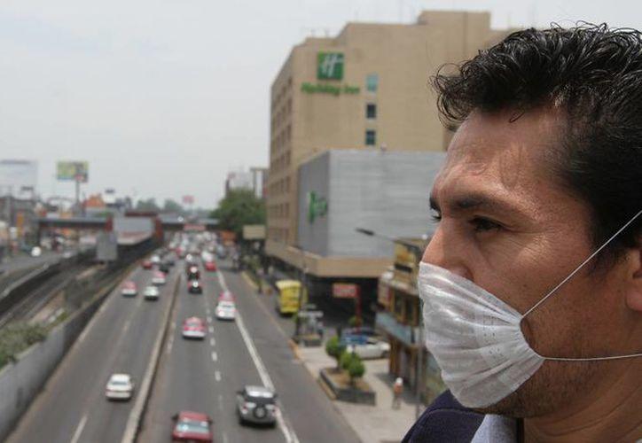 A las 15:00 horas de este viernes se registró una concentración máxima de 126 puntos de ozono en la Ciudad de México, concretamente en la del. Cuauhtémoc. (Notimex)