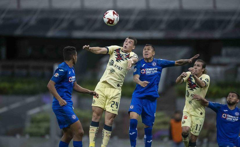El 15 de marzo fue el último partido del Clausura 2020, con la victoria de Cruz Azul 1-0 sobre América. (Foto: Mexsport)