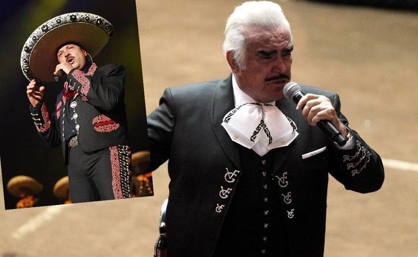 """""""Este disco homenaje a Vicente Fernández es un tributo a la persona que es, y por supuesto al artista"""", dijo Pepe Aguilar. (Archivo SIPSE)"""