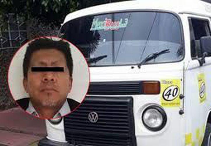 El  cuerpo de la menor de 11 años de edad, fue encontrado dentro de la unidad de transporte público de la Ruta 40. (El Sol de México)