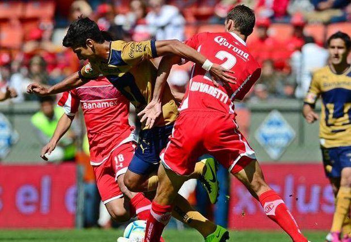 Toluca y Pumas no se hicieron daño. (deportes.terra.com/Contexto)