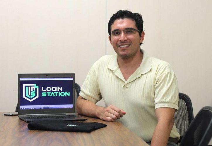 Jorge Eduardo Santos Villafaña y Ricardo José Zambrano García crearon la firma Login Station, para impulsar los e-Sports. (Amílcar Rodríguez)