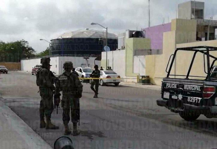 El hecho ocurrió en el fraccionamiento Palmas II de Playa del Carmen (Octavio Martínez/SIPSE)