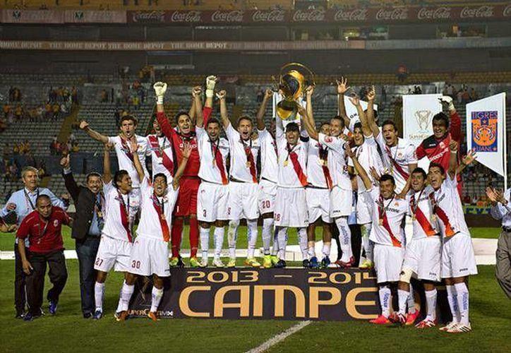 El gol de Carlos Morales en el partido de vuelta ante Tigres fue vital para que Morelia ganara la Super Copa MX. (foxsportsla.com)