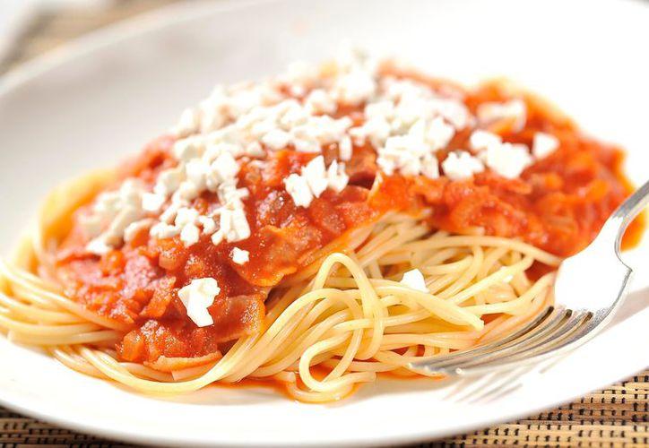 Las familias grandes con niños, son las que principalmente consumen espagueti. (Foto: Contexto)