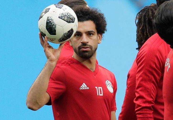 Egipto no pudo con Rusia ni siquiera con la ayuda de su gran goleador Mohamed Salah, del Liverpool (Foto: AP)