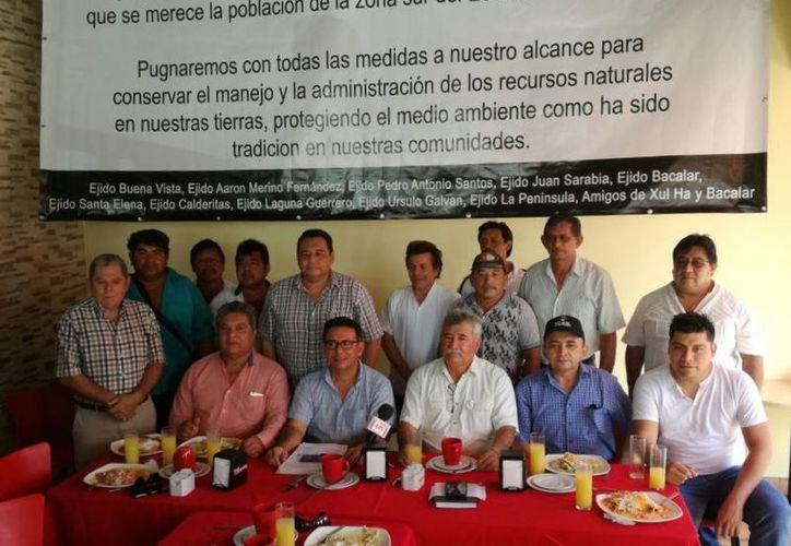 El presidente del Comisariado Ejidal de La Península, dijo desconocer los intereses que puedan existir detrás. (Joel Zamora/SIPSE)