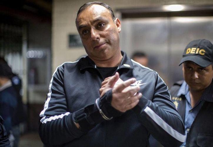 Byron Lima Oliva era considerado el hombre con más poder dentro de las prisiones de Guatemala. (Imagen de archivo de 2015 tomada de contrapoder.com.gt)