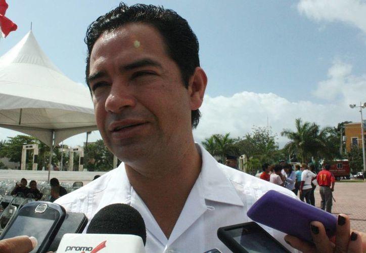 José Luis Toledo Medina continúa como tesorero municipal. (Alida Martínez/SIPSE)