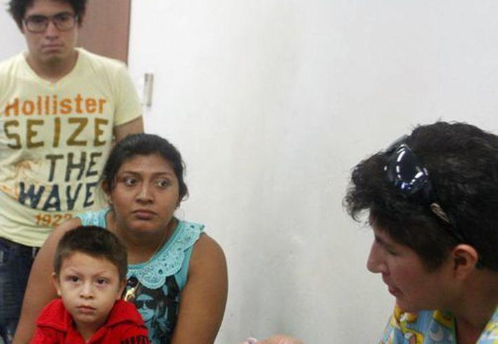 El taller fue de provecho no solo para niños hemofílicos sino para que sus parientes los puedan cuidar mejor. (SIPSE)