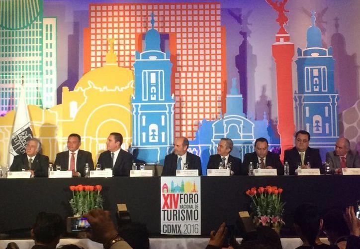 El anuncio se dio en el marco del Foro Nacional de Turismo que se realiza en la Ciudad de México. (Stephani Blanco/SIPSE)