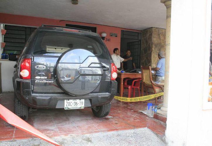 La maestra jubilada, Nelly de los Ángeles Contreras Ramírez, fue asesinada en el transcurso de la noche del jueves en su domicilio. (Jorge Sosa/SIPSE)