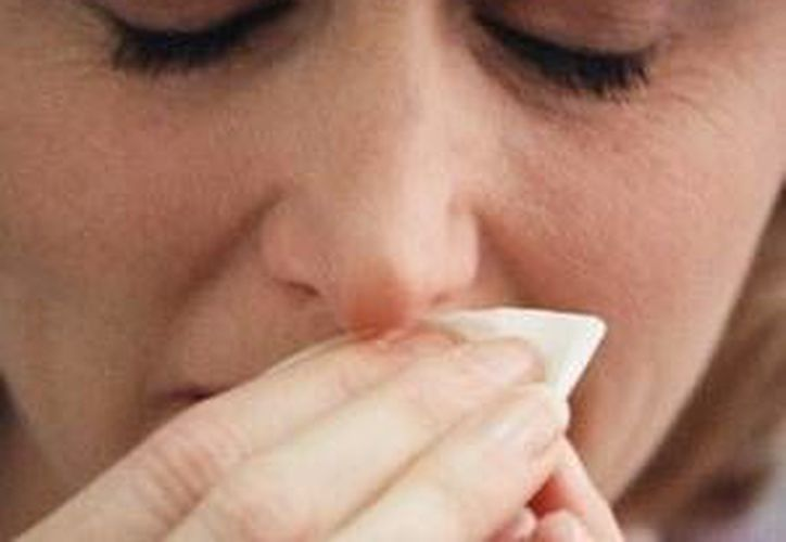 La humedad en Yucatán provoca un alto índice de enfermedades alérgicas como la sinusitis. (Milenio Novedades)