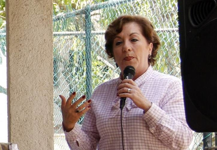 Alejandrina Escaroz Soler, directora de la agrupación 'Vivir en plenitud'. (Milenio Novedades)