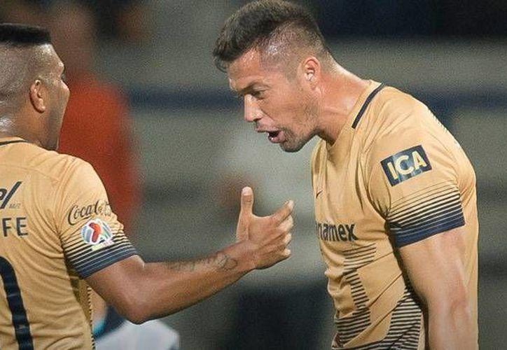 Daniel Ludueña y Dante Lopez dejaron de pertenecer desde este jueves a los Pumas de la UNAM; ahora jugarán en el Ascenso MX. (Archivo/ Mexsport)