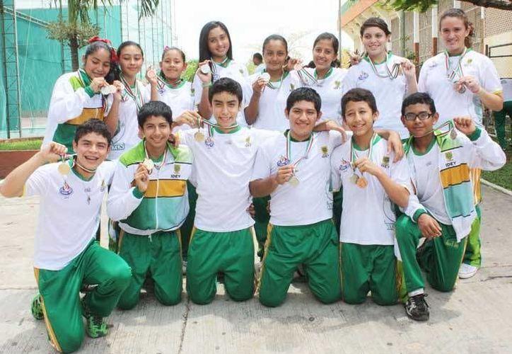Estos son algunos de los atletas yucatecos que obtuvieron medalla en la más reciente ON. (SIPSE)