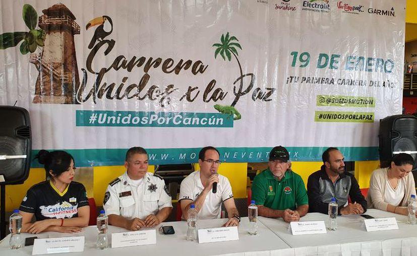 El evento deportivo fue anunciado en conferencia de prensa. (Raúl Caballero/SIPSE)