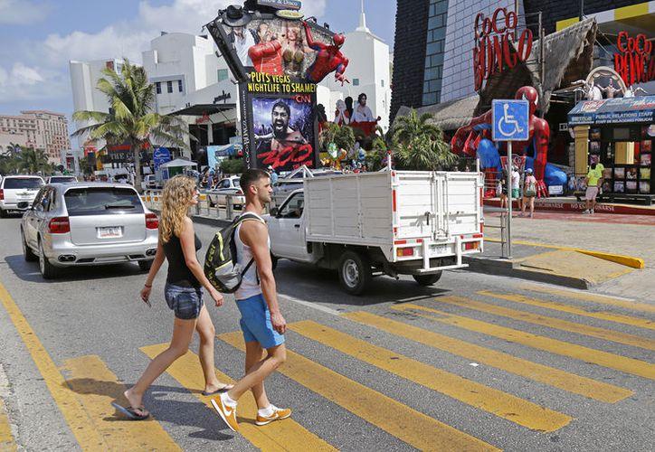 El delito de robo, es el que cuenta con más denuncias por parte de turistas extranjeros en Cancún. (Foto: Jesús Tijerina)