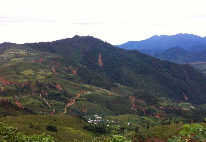 El atlas de riesgos identifica, entre otras cosas, la inestabilidad de laderas en zonas montañosas. (Archivo/Notimex)