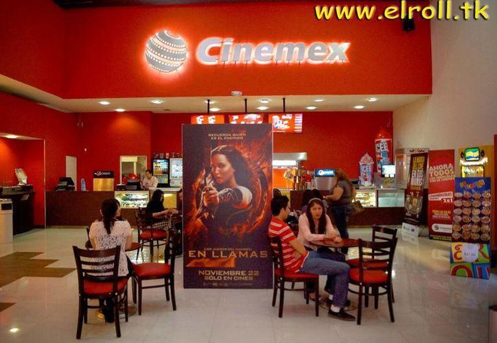 Cinemex es la sexta cadena más grande a nivel mundial.(elrollvip.blogspot.mx)