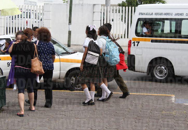La educación en el estado sigue estancada académicamente. (Joel Zamora/SIPSE)