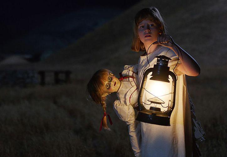 Con la cinta Annabelle: Creation, el terror regresó con el pie derecho a las salas de cine de Estados Unidos. (Warner Bros).