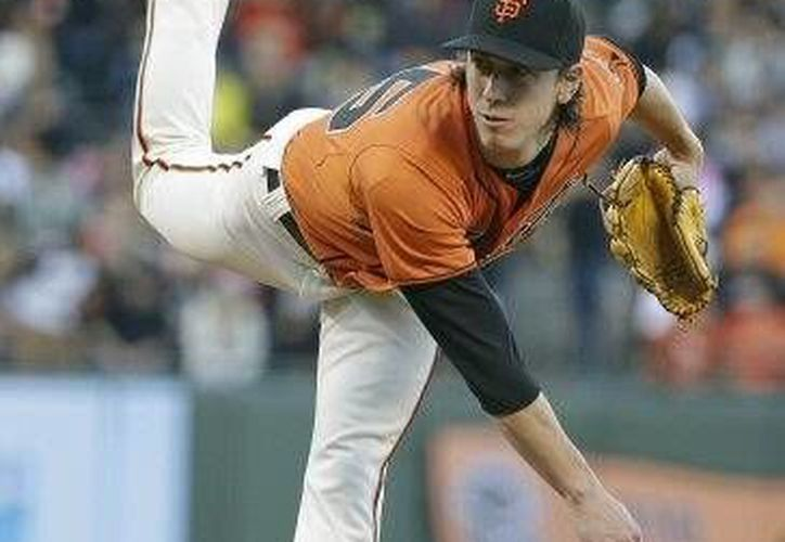Tim Lincecum ha sido dos veces ganador del premio Cy Young de la Liga Nacional, protagonista de un no-hitter esta temporada.(Foto:The Associated Press.)