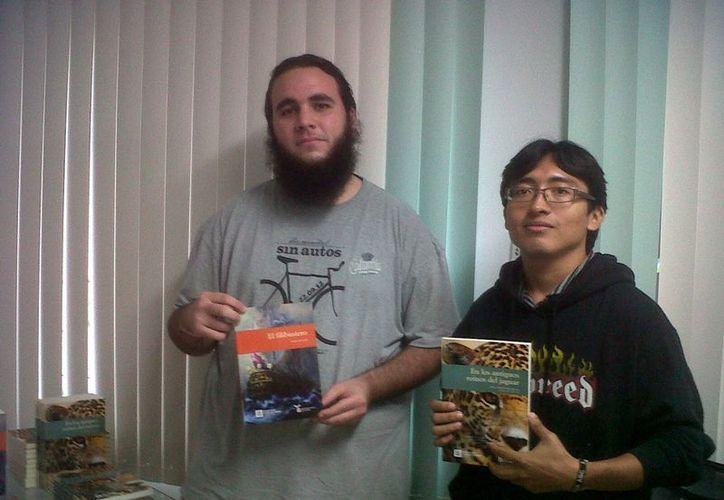 Raúl Canto Escaroz y Carlos Mejía Pinzón, impulsores del proyecto. (SIPSE)