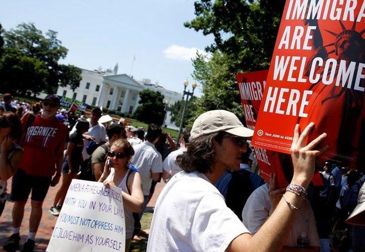 Estados Unidos paralizó al país con protestas contra Donald Trump. (Foto: Reuters)