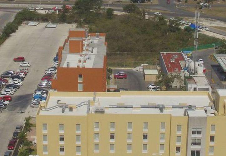El plan piloto se implementará en los hoteles City Express. (Israel Leal/SIPSE)