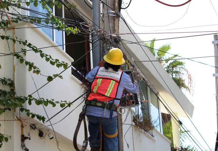 El año pasado fueron hurtados un aproximado de 150 kilógramos del conductor eléctrico. (Foto: Octavio Martínez/SIPSE)