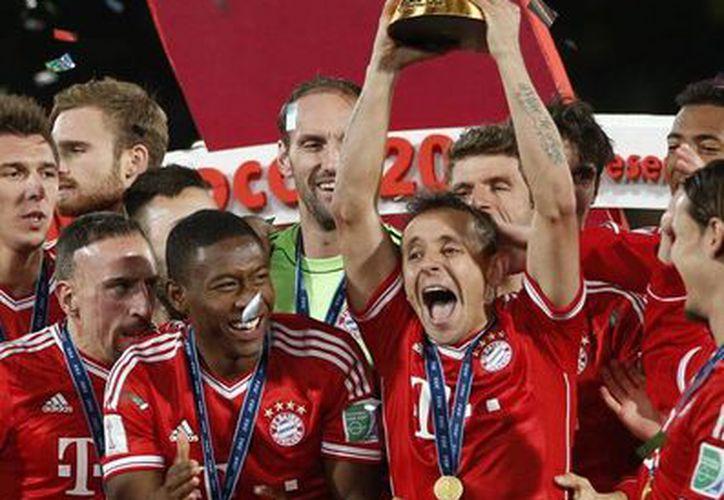 El Bayern ganó todo este año: Bundesliga, Copa de Alemania, Champions, Supercopa de Europa y ahora el Mundial de Clubes. (Agencias)