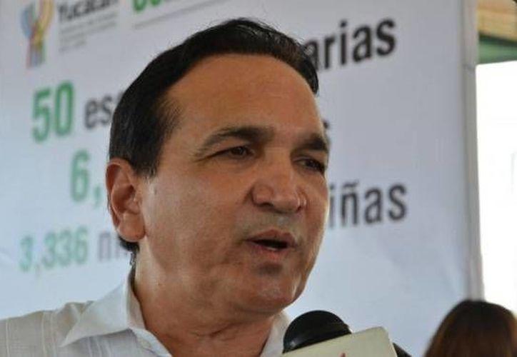 José Manuel López Campos, titular de la Canacome, declaró que la plataforma 'Mi Negocio México' es una herramienta que ahorrará tiempo a empresarios y les brindará mayor transparencia. (Twitter)