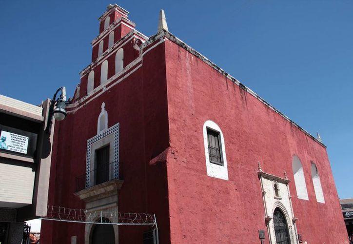 Imagen del templo de San Juan de Dios, el cual se considera que funcionó como catedral provisional en lo que se construía la actual. (Jorge Acosta/Milenio Novedades)